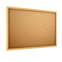 cartoon cork board 3D model