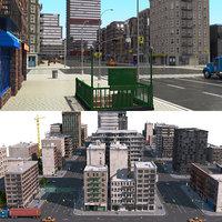 city block 2 3D model