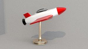 rocket toy 3D model