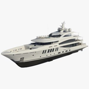 amels 200 yacht redshift model