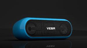 speaker 3D model