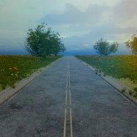 set road street 3D