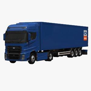 3D f-max box trailer