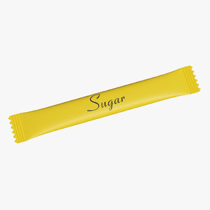 3D packaging sugar model