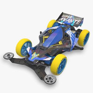 3D avante super vs chassis