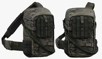 Backpack Camping Generic military combat soldier armor scifi fantasy 3d
