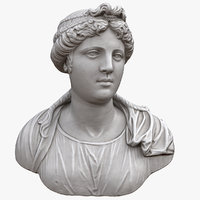 Young Woman Bust