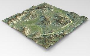 3D games terrain