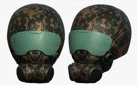 3D helmet sci fi model