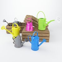 3D watering cans