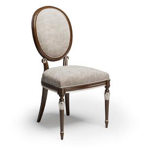3D sevensedie chair olga
