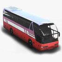 tourist bus 3D