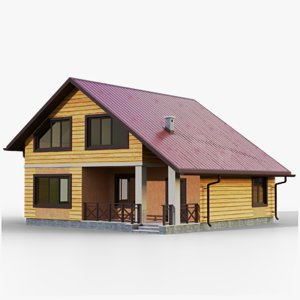 gameready house 5 type model