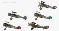 ww1 aces canada fighter aircraft model