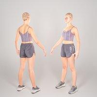 photogrammetry woman body 3D