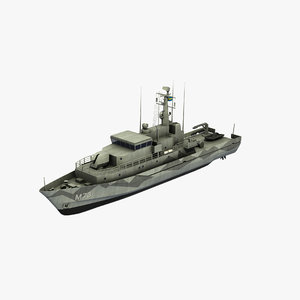 koster class countermeasure vessel model