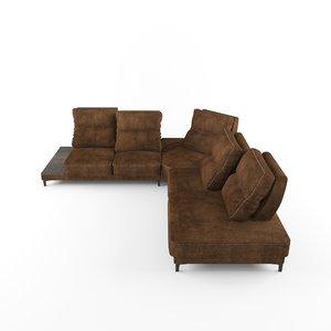 3D furniture sofa model