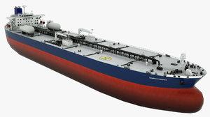 3D oil tanker olympiysky prospect model