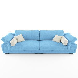 3D model sofa mozart