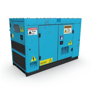 power generator pbr 3D model