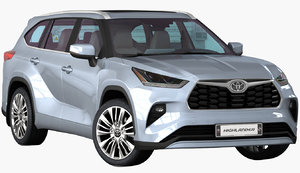 realistic toyota highlander 2020 model