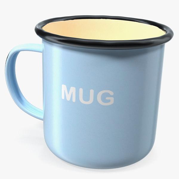 enamel mug model
