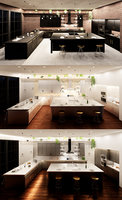 3D create kitchen revit parametric model