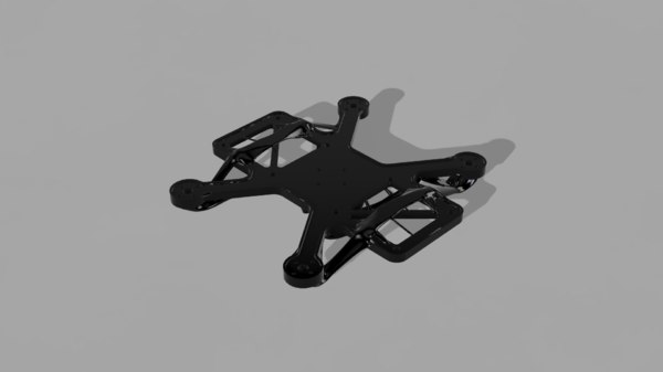 3D model generative design frame drone