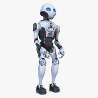 3D robot pbr model