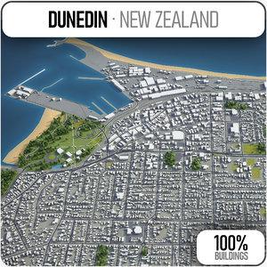 dunedin surrounding - model