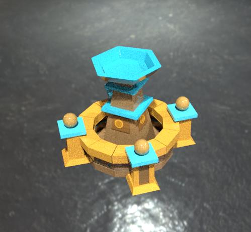 wishing pool model