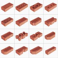 brick building model