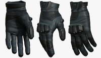 Gloves military combat soldier armor scifi fantasy 3d human