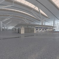 Airport hall 01