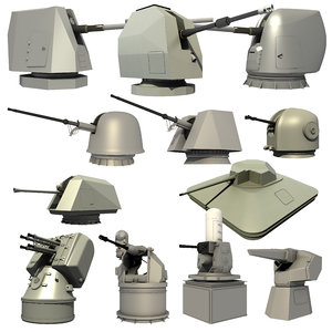 naval weapon 3D model