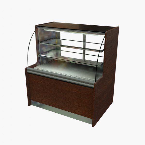 pastry display cabinet 3D model