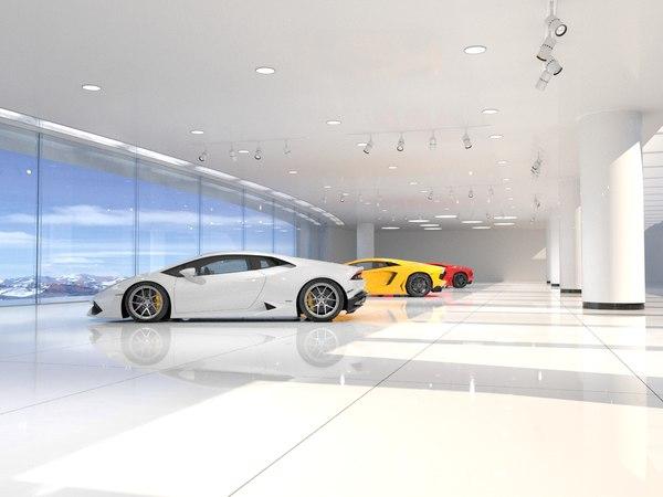 interior scene 04 environment model
