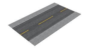 3D road modo