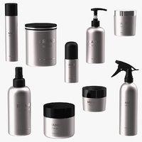 Cosmetic Package Set Black