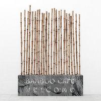 decor bamboo 3D