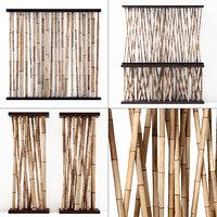 branch decor bamboo model