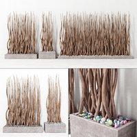 3D branch plant
