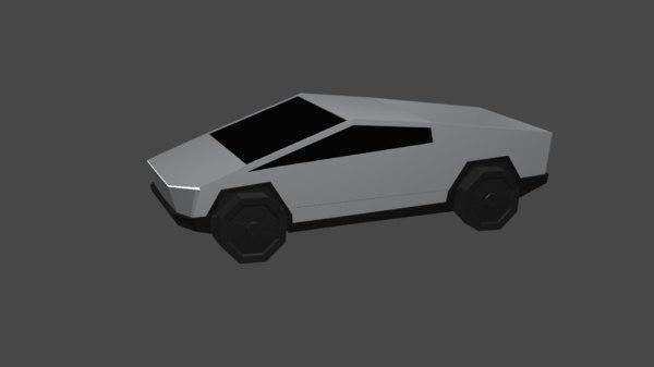 truck cyber toy 3D model