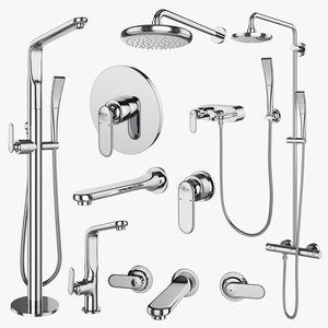 3D faucets shower systems grohe