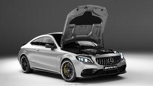 3D mercedes-benz amg coupe 2019