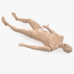 cpr aid training manikin model