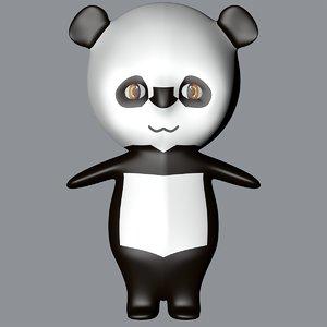 3D panda