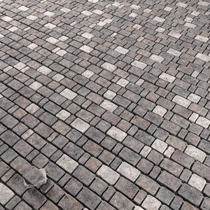 3D model tiled