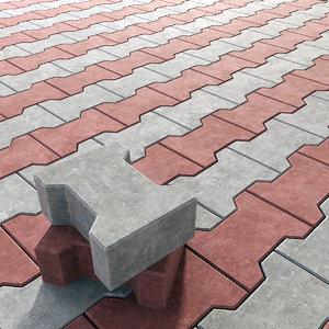 3D tiled model