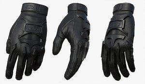 3D fashion gloves